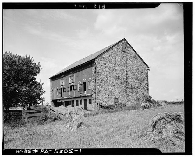 Barn, State Route 100 vicinity, Macungie, Lehigh County, PA