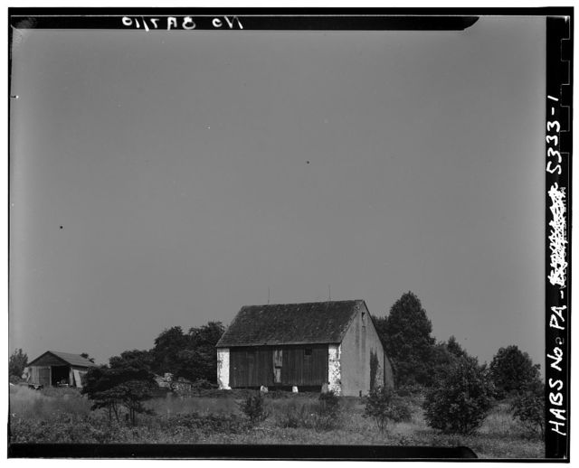 Barn, State Route 352 (East Goshen Township), Rocky Hill, Chester County, PA