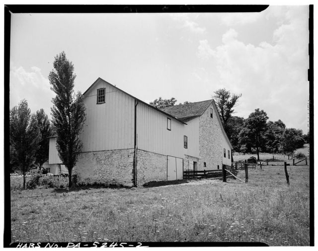 Barn, State Route 41 (West Vincent Township), Cochranville, Chester County, PA