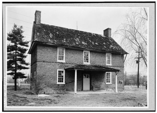 Barnes-Brinton House, 630 Baltimore Pike (U.S. Route 1), Chadds Ford, Delaware County, PA
