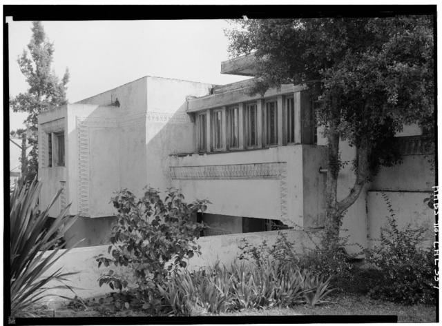 Barnsdall Park, Residence 'A', 4800 Hollywood Boulevard, Los Angeles, Los Angeles County, CA