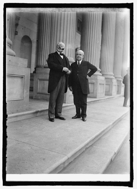 Baron Theodor Adelswaerd & Senator Wm. B. McKinley (Int. Union), 10/1/25