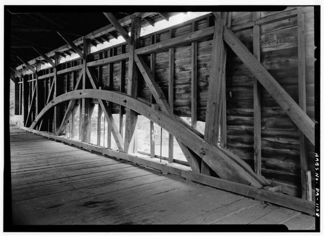 Bartram's Covered Bridge, Spanning Crum Creek, Newtown Square vicinity (Willistown-Newtown Townships), Newtown Square, Delaware County, PA