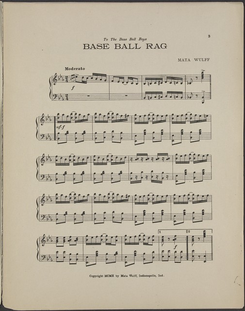 Base ball rag