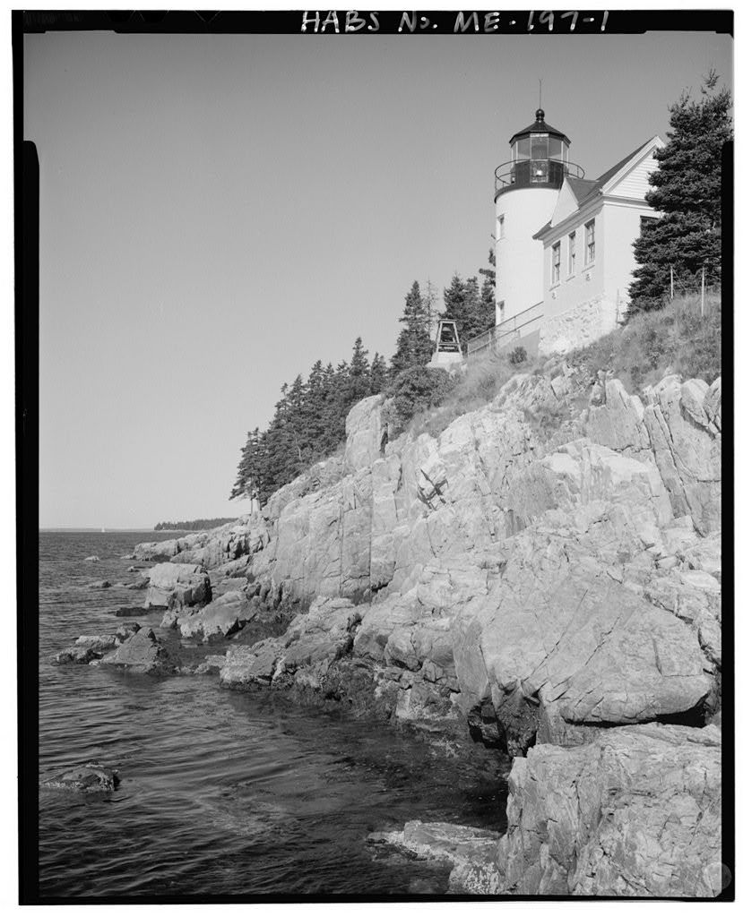 Bass Harbor Head Light Station, At southwest tip of Mount Desert Island off State Route 102, Bass Harbor, Hancock County, ME
