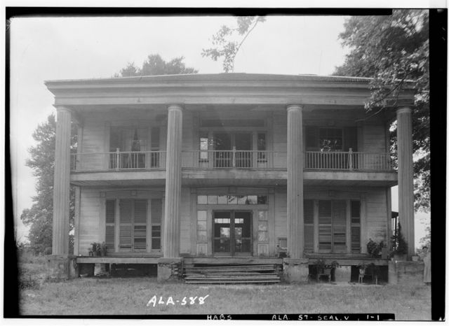 Bass-Perry House, U.S. Highway 431, Seale, Russell County, AL