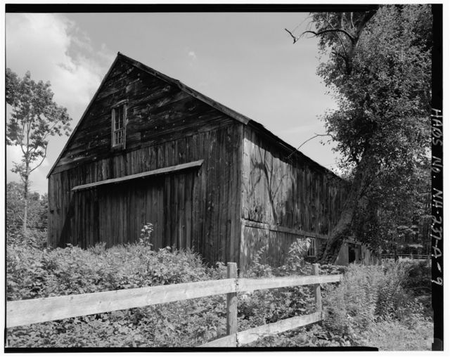 Batchelder-Edgerly Farmstead, Barn, U.S. Route 4, southwest side, southeast corner of New Hampshire Route 43, Northwood, Rockingham County, NH