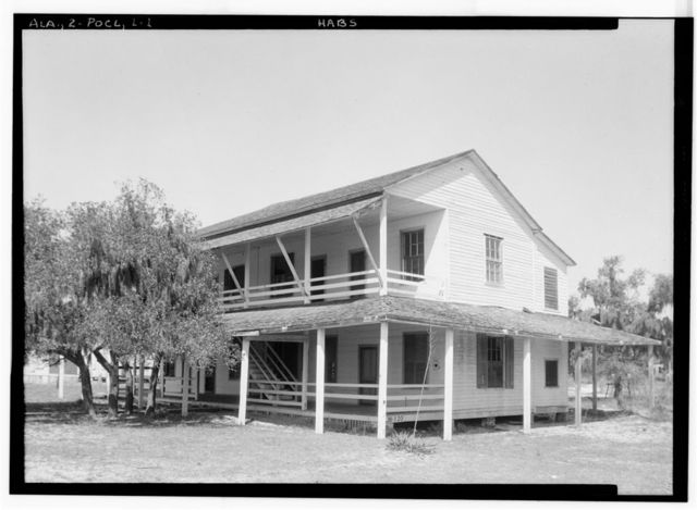 Battle House, U.S. Highway 98 (State Highway 42), Point Clear, Baldwin County, AL