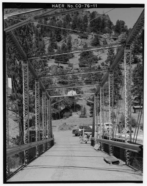 Baxterville Bridge, Spanning Rio Grande River at Masonic Park Drive, South Fork, Rio Grande County, CO