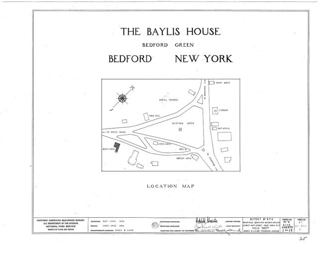 Baylis House, Bedford Green, Bedford, Westchester County, NY