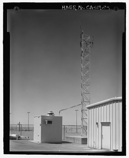 Beale Air Force Base, Perimeter Acquisition Vehicle Entry Phased-Array Warning System, Microwave Equipment Building, End of Spencer Paul Road, north of Warren Shingle Road (14th Street), Marysville, Yuba County, CA