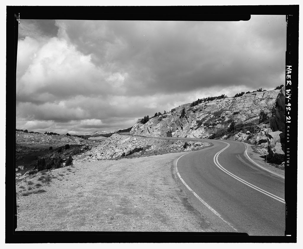 Beartooth Highway, Red Lodge, Montana to Cooke City, Montana, Cody, Park County, WY