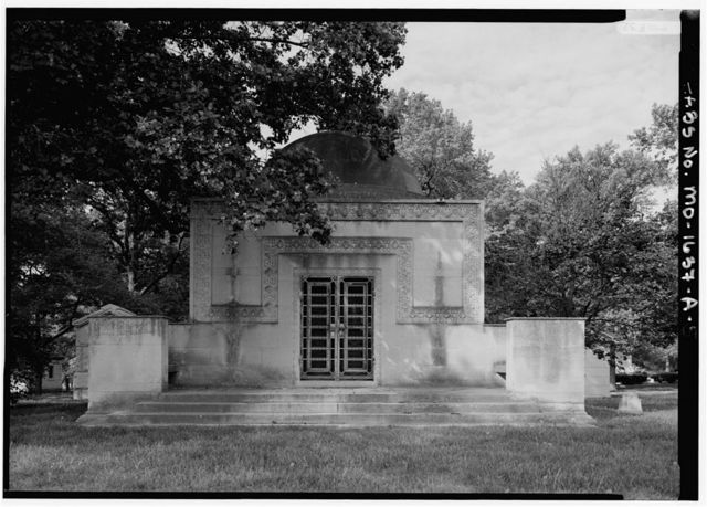 Bellefontaine Cemetery, Wainwright Tomb, 4947 West Florissant Avenue, Saint Louis, Independent City, MO