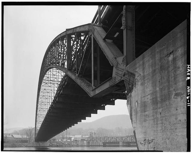 Bellows Falls Arch Bridge, Spanning Connecticut River, North Walpole, Cheshire County, NH