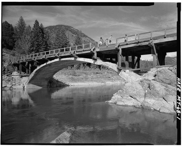 Belton Bridge, Spanning middle fork of Flathead River at Going-to-the-Sun Road, West Glacier, Flathead County, MT