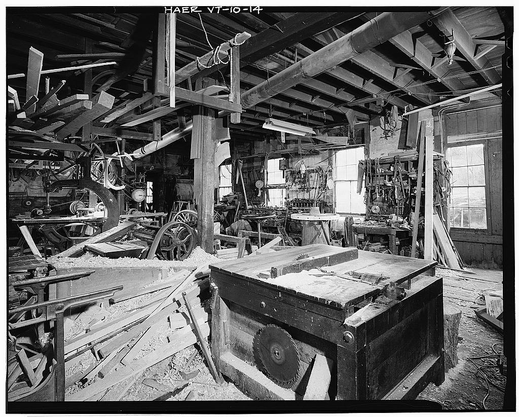 Ben Thresher's Mill, State Aid No. 1, Barnet, Caledonia County, VT