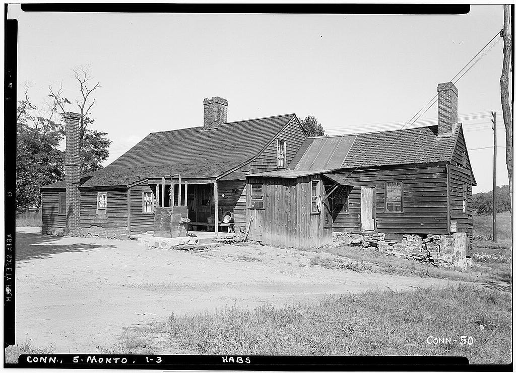 Benjamin Beach House, U.S. Route 5, Montowese, New Haven County, CT