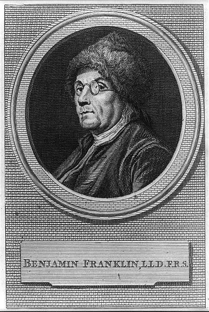 Benjamin Franklin, L.L.D.F.R.S.