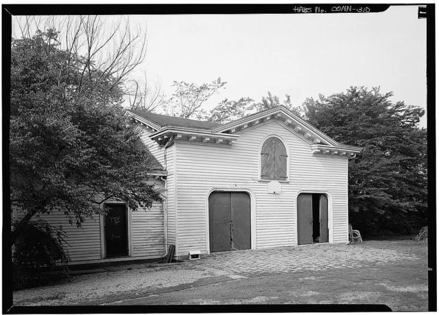 Benjamin Pomeroy Carriage House, 658 Pequot Road, Southport, Fairfield County, CT