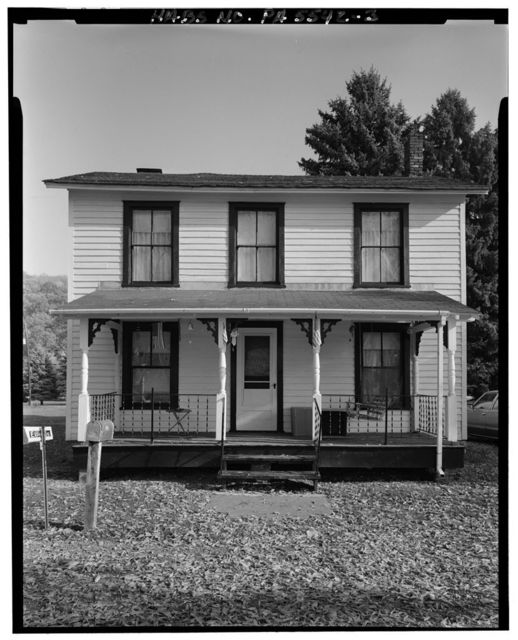 Bennett House, Water Street, approximately 2500 feet West of Jay Street Bridge, Lockport, Clinton County, PA
