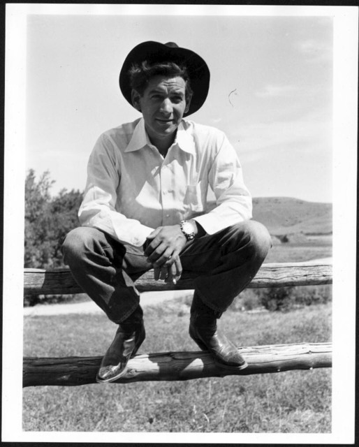 Bernstein at the ranch of Frieda Lawrence, widow of the writer D.H. Lawrence (1885-1930) in Taos, New Mexico, 1948. Photographer unidentified. (Music Division)
