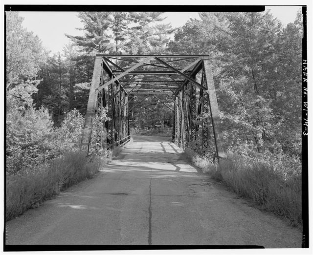 Bert Parsons Bridge, Spanning Fisher River at West Fisher Drive, Cornell, Chippewa County, WI