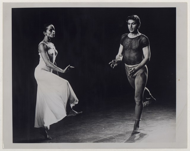 [ Bertram Ross and Mary Hinkson in Diversion of angels]