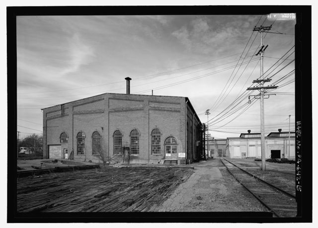 Bessemer and Lake Erie Railroad, Greenville Shops, 86 Ohl Street, Greenville, Mercer County, PA