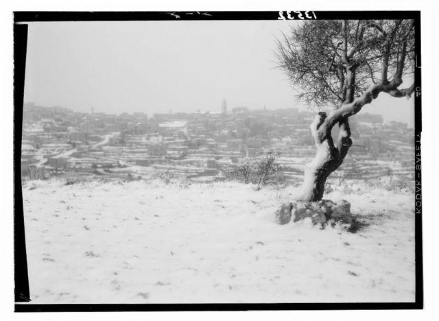 Bethlehem in snow taken Feb. 17, '46