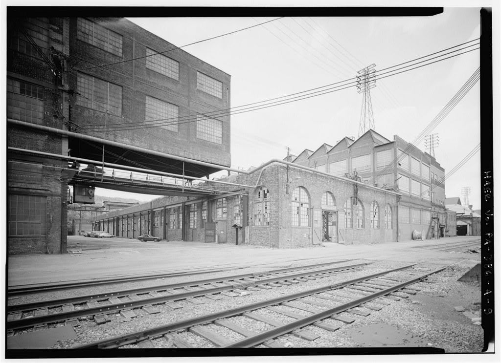 Bethlehem Steel Corporation, South Bethlehem Works, Iron Foundry, Along Lehigh River, North of Fourth Street, West of Minsi Trail Bridge, Bethlehem, Northampton County, PA