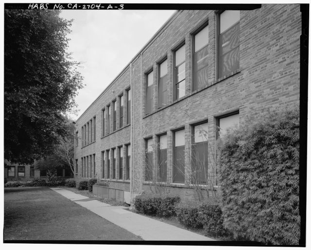 Beverly Vista School, Administration Building, 200 South Elm Drive, Beverly Hills, Los Angeles County, CA