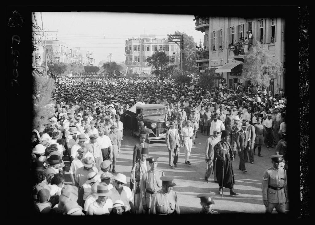 Bialek's funeral in Tel Aviv