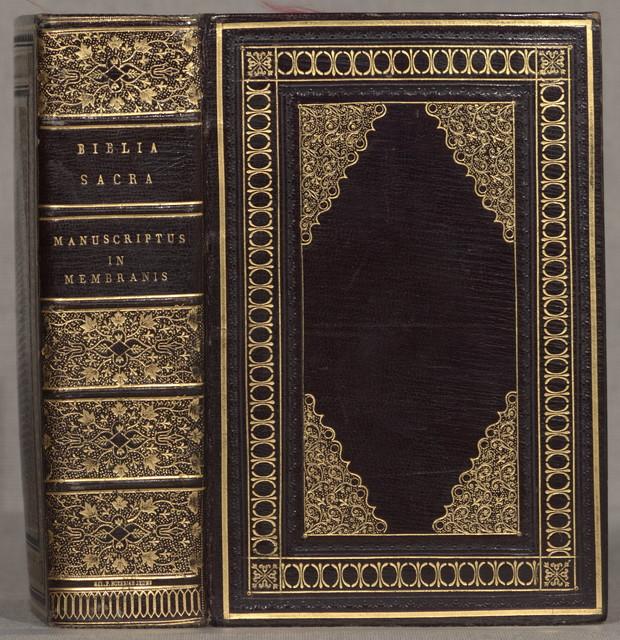 Biblia Latina. [England? 13th century], 19 cm.