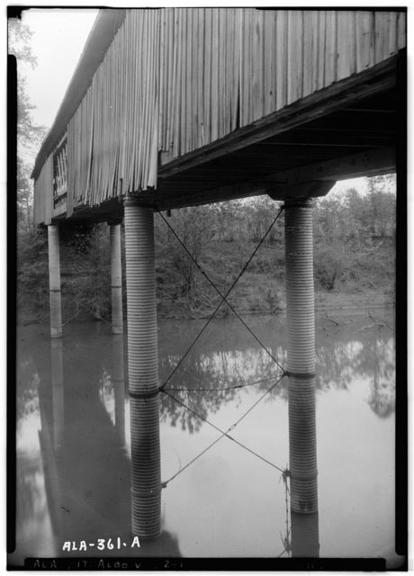 Big Bear Creek Covered Bridge, Allsboro, Colbert County, AL
