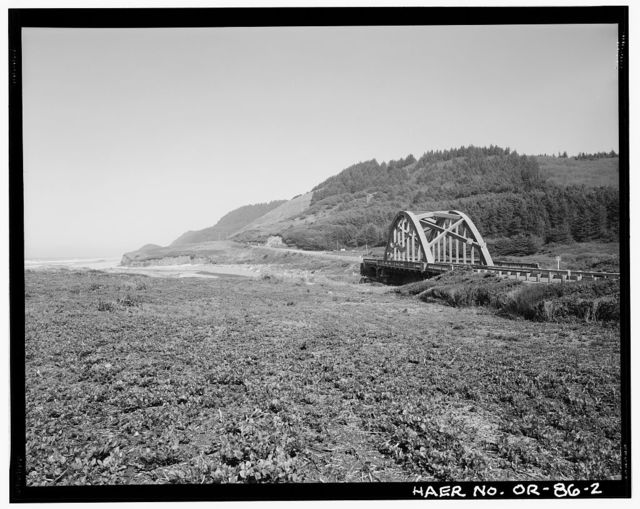Big Creek Bridge, Spanning Big Creek on Oregon Coast Highway (US101), Florence, Lane County, OR