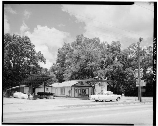 Billy Carter Service Station, 216 West Church Street, Plains, Sumter County, GA