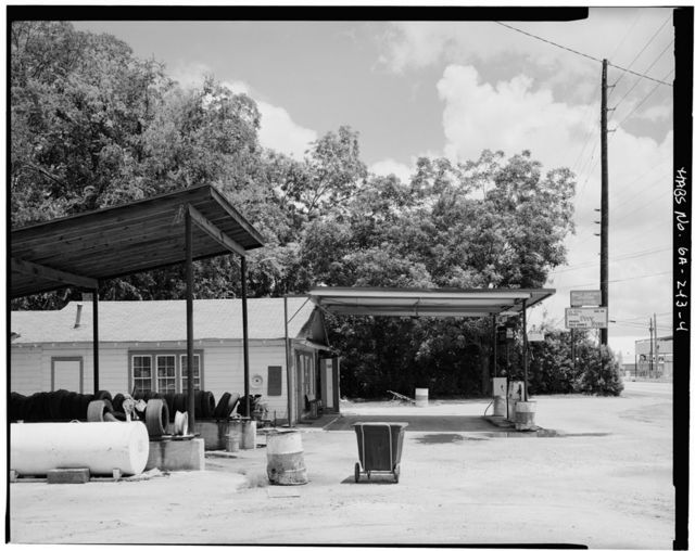 Billy Carter Service Station, 216 West Church Street, Plains, Sumter County, GA