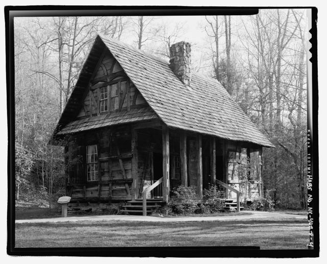 Biltmore Forestry School, Black Forest Lodge, Brevard, Transylvania County, NC