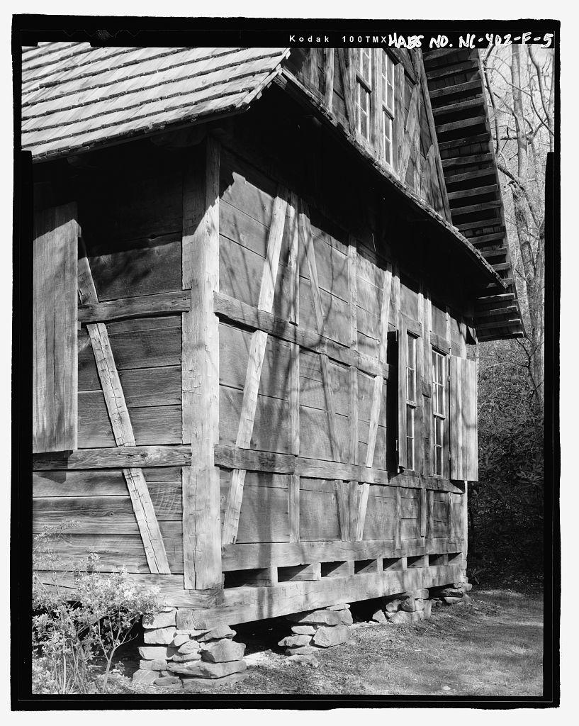 Biltmore Forestry School, Black Forest Lodge, Brevard, Transylvania County, NC