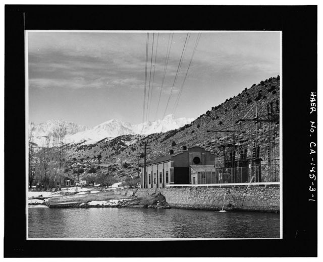 Bishop Creek Hydroelectric System, Plant 3, Bishop Creek, Bishop, Inyo County, CA