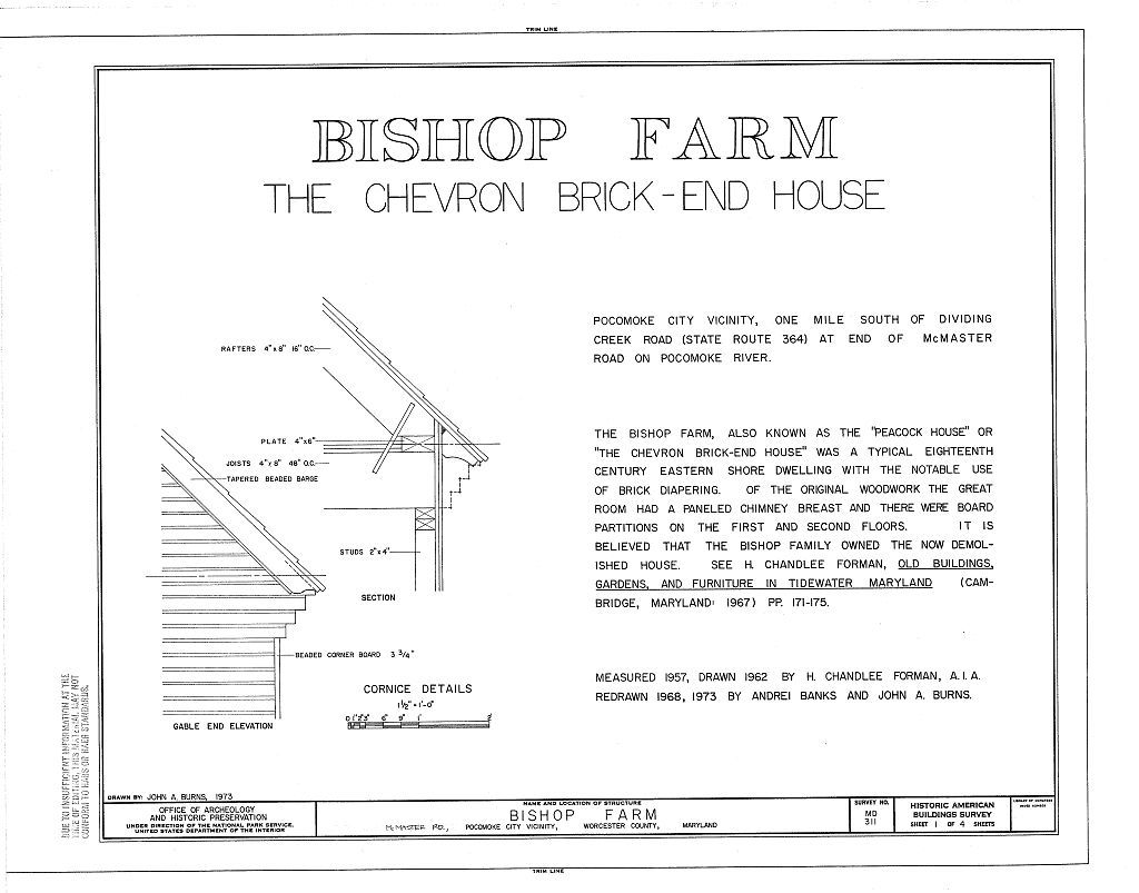 Bishop Farm, McMaster Road, Pocomoke City, Worcester County, MD