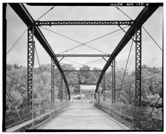 Blackinton Bridge, Spanning Hoosic River on Galvin Road, North Adams, Berkshire County, MA