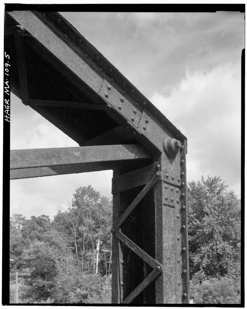 Blackinton Bridge, Spanning Hoosic River on Galvin Road, North Adams, Berkshire County, MA