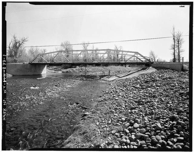 Black's Fork Bridge, Spanning Black's Fork River on County Road No. 217, Fort Bridger, Uinta County, WY