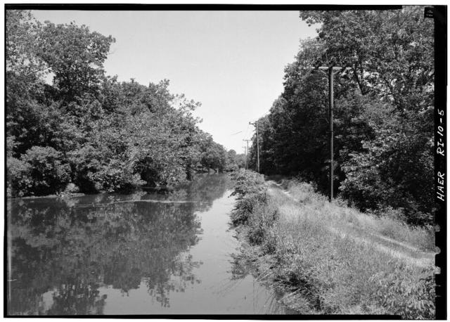 Blackstone Canal, Blackstone River & Washington Highway (Quinnville), Ashton, Providence County, RI