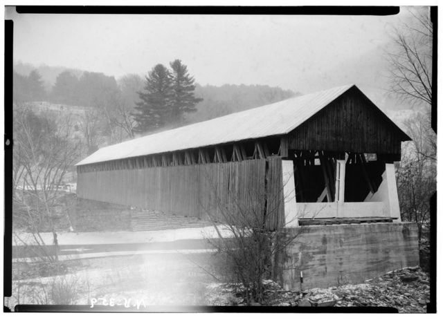 Blenheim Covered Bridge, Spanning Schoharie River, North Blenheim, Schoharie County, NY