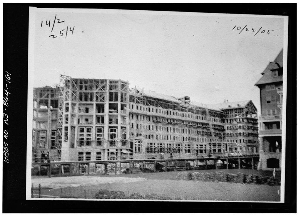 Blenheim Hotel, Ohio Avenue & Boardwalk, Atlantic City, Atlantic County, NJ