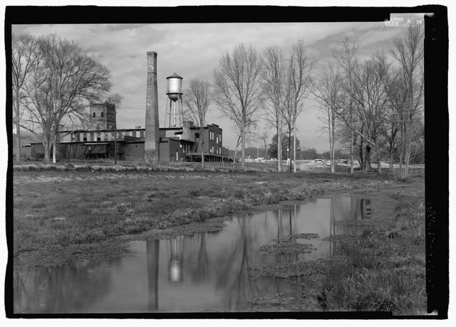 Blue Spring Cotton Mill, Route 20, Oxford, Calhoun County, AL