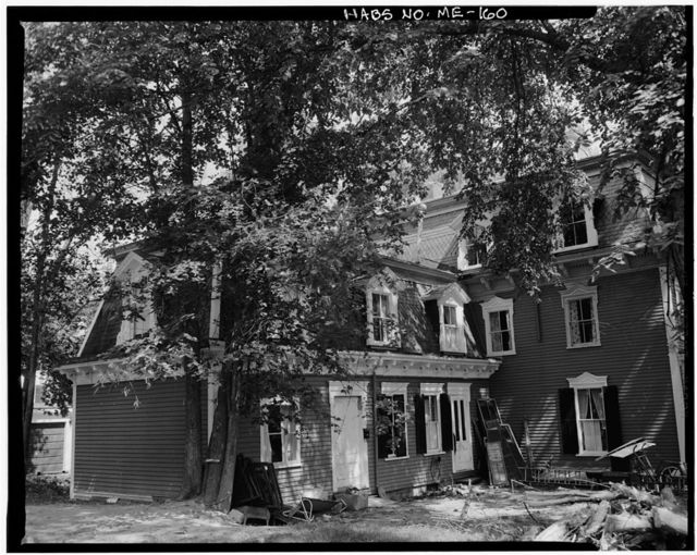 Bodwell House, 15 Middle Street, Hallowell, Kennebec County, ME