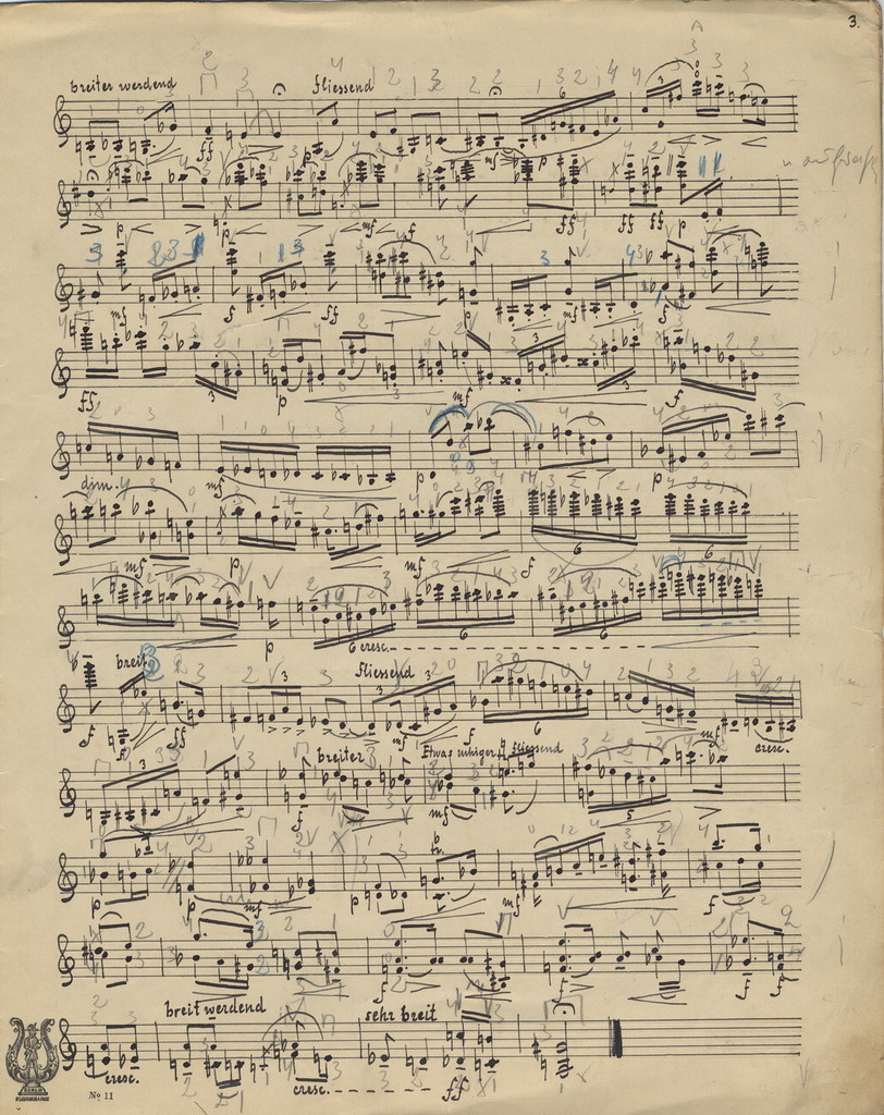 Bohnke, Emil. Sonata for Violin, Op. 15, No. 1